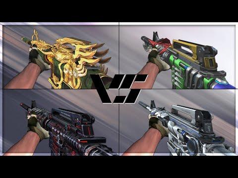 CrossFire 2.0 : M4A1-S GUAN YU SPIRIT Vs M4A1-S VIP's [VVIP M4A1-S Comparison]