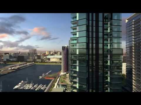 Convesso Concavo Marina Apartments, Victoria Harbour, Melbourne. By Lend Lease