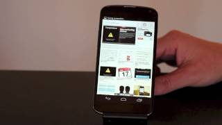 CNET How To - How to take a screenshot on the Nexus 4