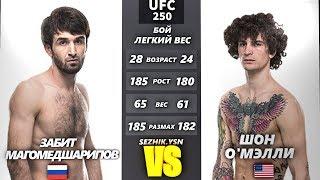 UFC БОЙ Забит Магомедшарипов vs Шон О'Мэлли (com.vs com.) 3 steam kay