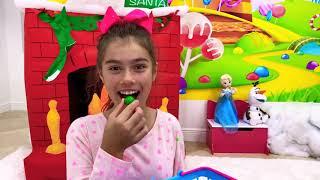 Настя Артем и Мия - история про то как дети раскрасили сапоги