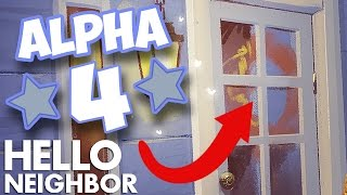 Minecraft Hello Neighbor - My Alpha 4 House Tour (Minecraft Roleplay)