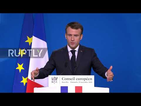 Belgium: Paris is prepared for all post-Brexit options – Macron after Brussels Summit