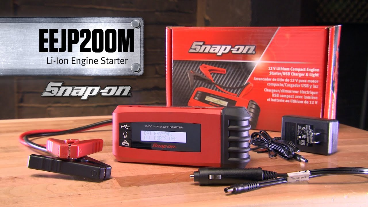Snap On Eejp200m Compact Engine Starter Tools Youtube Insert The Circuits Usb Programming Cable Into An Empty Port