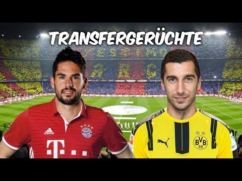 Isco zu Bayern ? | Mkhitaryan zurück zu Dortmund ? | Transfers und Transfergerüchte 2016