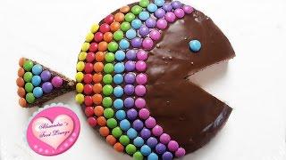 Regenbogen-Zebrafisch/ Geburtstagskuchen für Kinder/ Backen mit Kindern