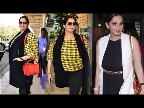 Sania Mirza Sh0cking Transformation Fat To Fit | Spotted at Restaurant