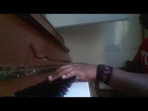 Gaddaffi plays Re a mo leboga on Piano. UCT Gsh