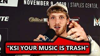 Logan Paul calls KSI's Album TRASH...