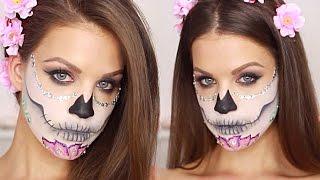 Sugar Skull Makeup Tutorial │Karin Dragos