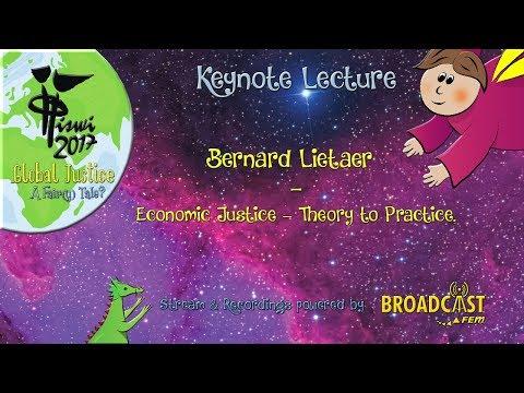 ISWI 2017 | Keynote | Bernard Lietaer (Sun.)