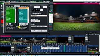 cricket scoring system || Automated Soccer || cricket scoring for vmix | vmix cricket scoreboard screenshot 2