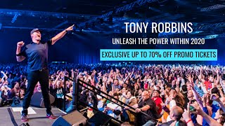 UPW Birmingham 2020 Seminar - Official Tony Robbins Promo Tickets