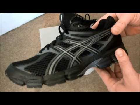 asics-gel-cumulus-14-men's-black-/-onyx-/-charcoal-running-shoes-unboxing