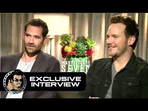 Chris Pratt & Manuel Garcia-Rulfo Exclusive THE MAGNIFICENT SEVEN Interview (JoBlo.com)