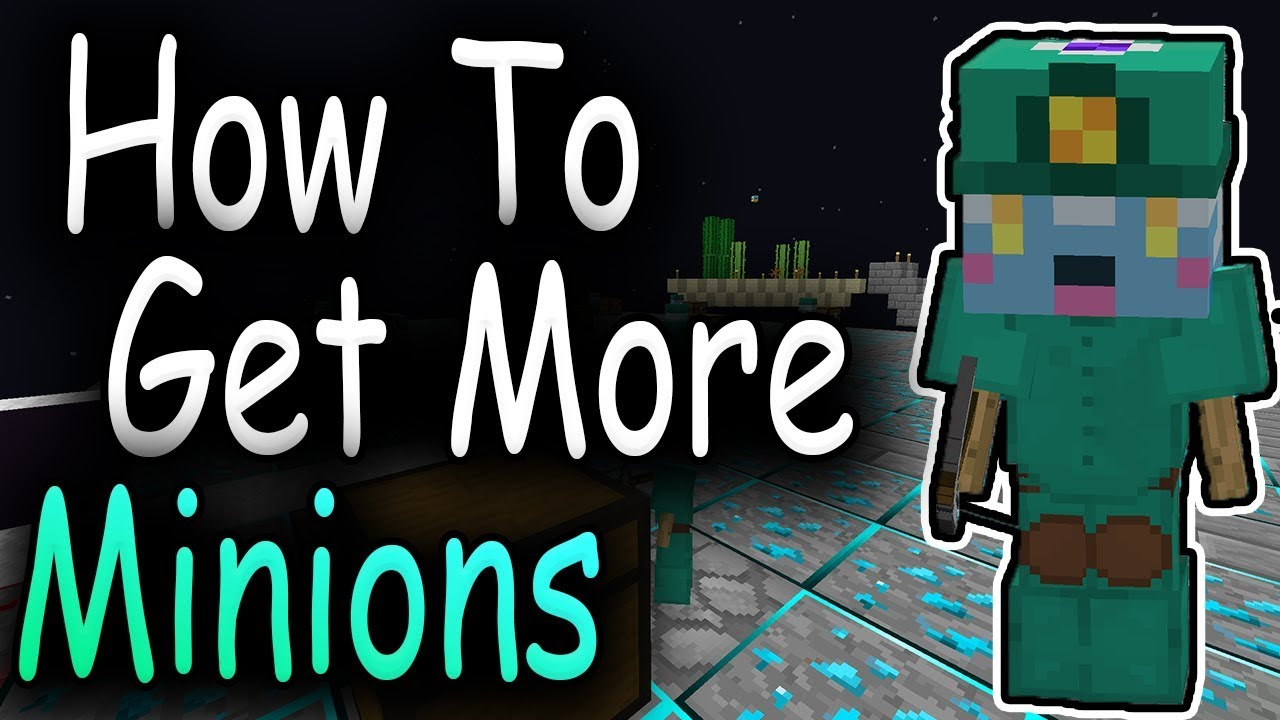 Hypixel Skyblock - How To Get More Minion Slots Quickly