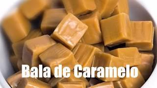 Receita de BALA DE CARAMELO