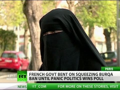 Burqa Ban: Muslim full-face cover now crime in France