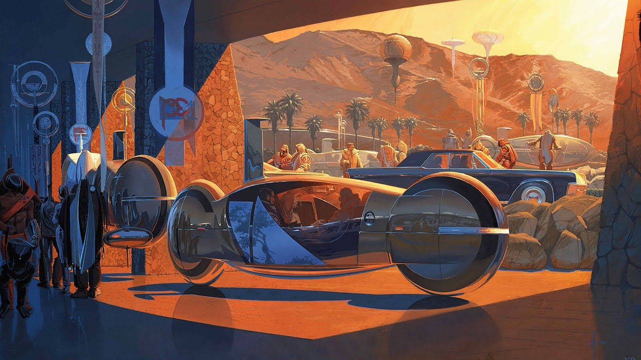 Syd Mead Visual Futurism Youtube