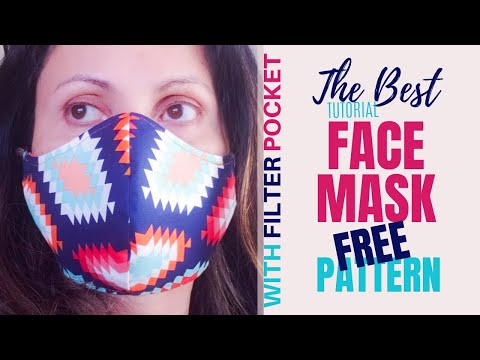 how-to-sew-the-best-fabric-face-mask-with-filter-pocket?-[9-free-patterns]