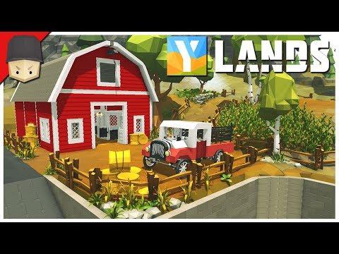 YLANDS - GIVEAWAY! : Ep.40 (Survival/Crafting/Exploration/Sandbox Game)