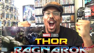 "Thor Ragnarok ""Hulk Vs Thor"" Clip Reaction!"