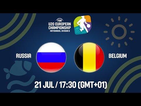 LIVE – Russia v Belgium – FIBA U20 European Championship Division B 2019