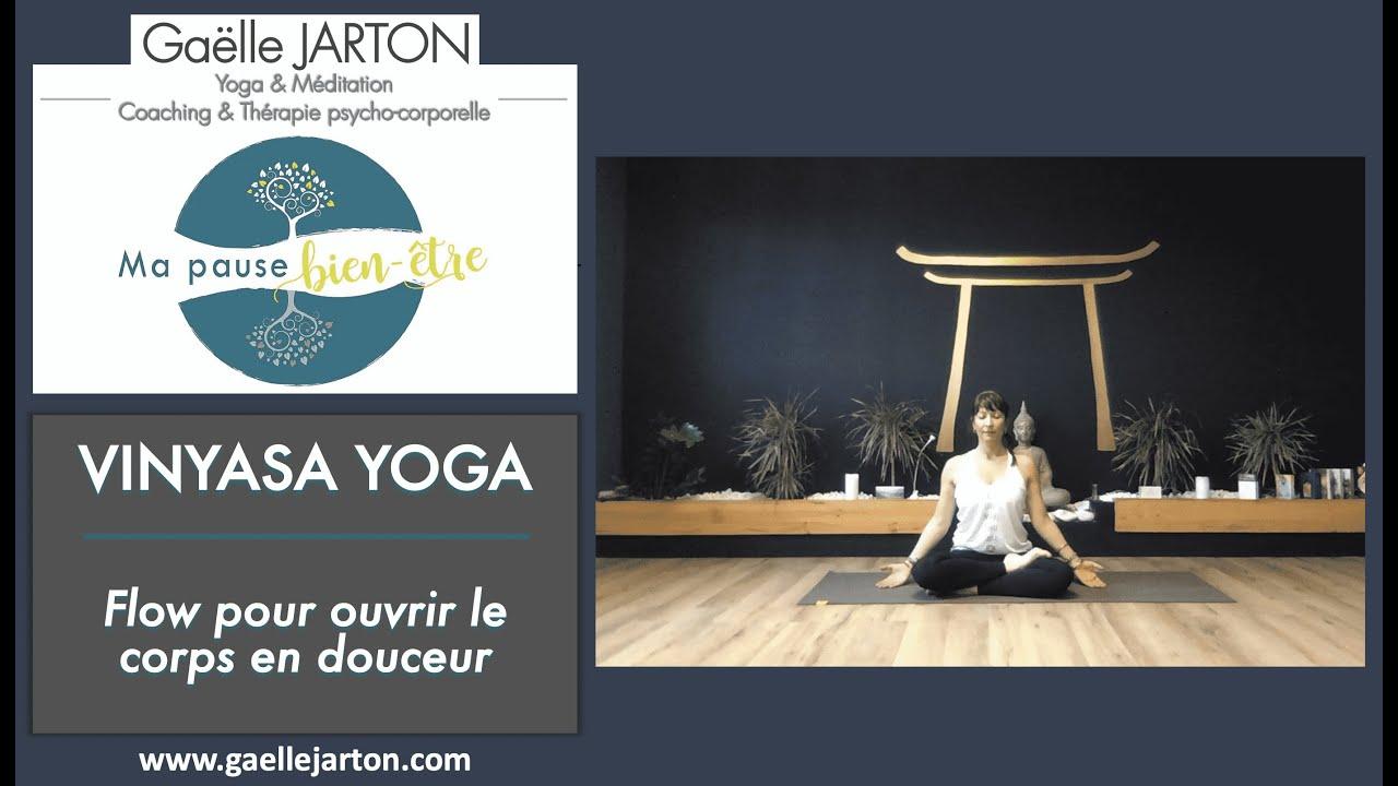 Vinyasa Yoga - Flow pour ouvrir le corps en douceur (30 min)