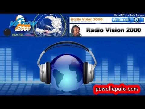 Lundi 3 Avril 2017 - Journal du matin sur Radio Vision 2000/ LIVE