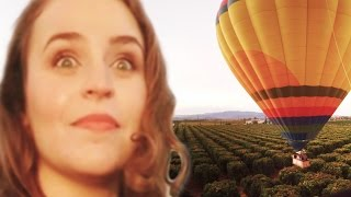 People With A Fear Of Heights Ride In A Hot Air Balloon (360° Video)
