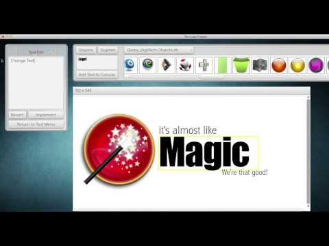 The Logo Creator by Laughingbird Software - How To Create a Logo