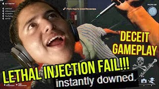 HOW CAN SOMEONE BE THIS STUPID LETHAL INJECTION FAIL Deceit Part 1