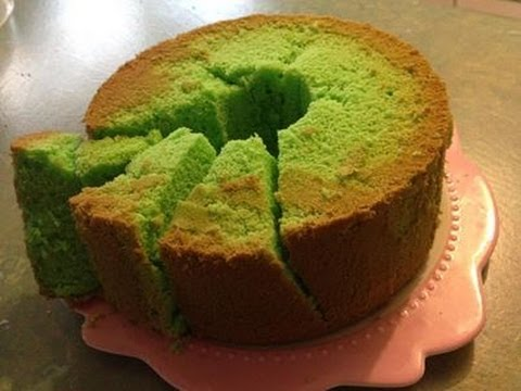 Pandan Chiffon Cake Youtube