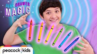 Psychic Crayon Trick I JUNK DRAWER MAGIC