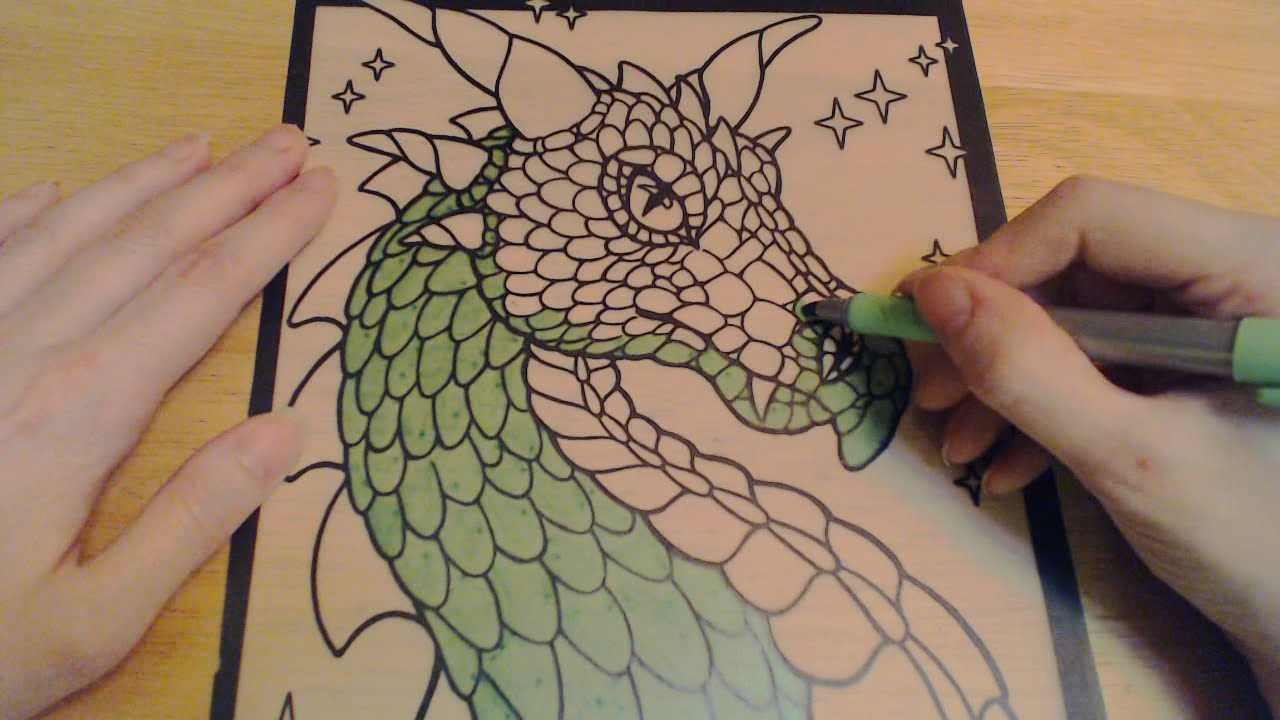 asmr sounds of coloring with markers ear to ear breathing mouth sounds youtube
