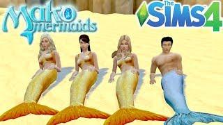 Mako Mermaids - Season 1: The Sims 4 - Create a Sim