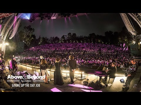 Above & Beyond Acoustic - No One On Earth feat. Zoë Johnston (Live At The Hollywood Bowl) 4K