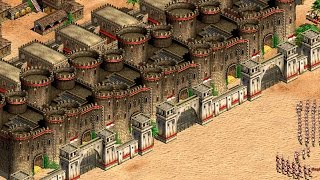 Age of Empires 2 - The Wall of Castles