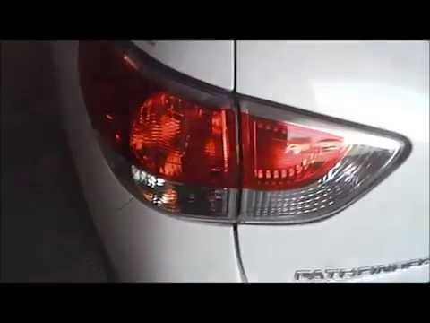 Nissan Pathfinder Tail Lamp Bulb Replacement How To