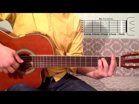 Fm Fa Minör Akoru Nasıl Basılır Gitar Dersleri