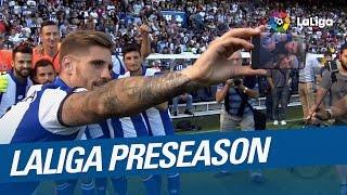 Laliga preseason 2016/2017: deportivo de la coruña, granada cf and sporting de gijón