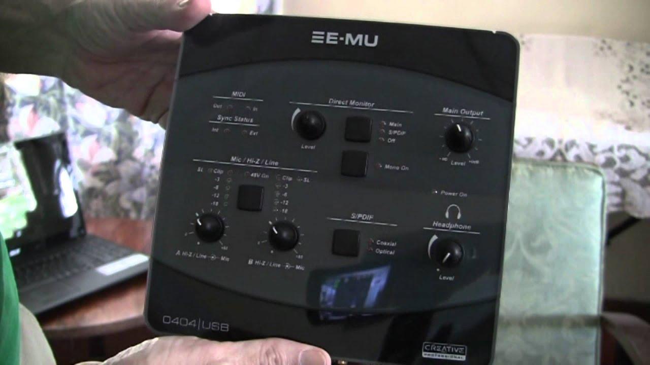 EMU 04040 USB DRIVER WINDOWS XP