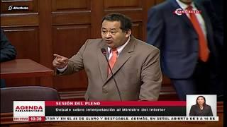 Fujimorista Ramírez llama