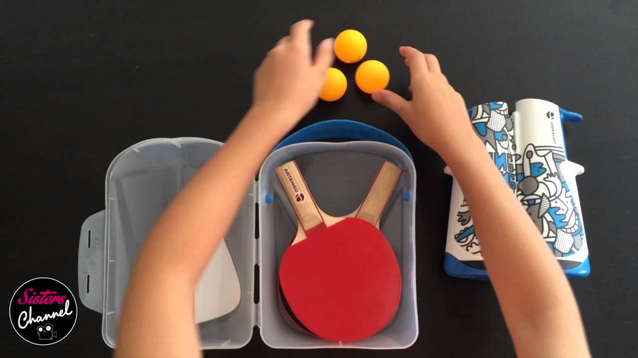 Ping pong d cathlon youtube - Decathlon table de ping pong ...