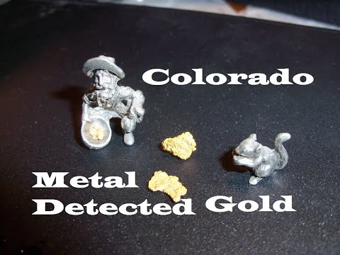 Colorado Gold, Nugget Hunting, Gold Bug 2, Metal Detecting Find