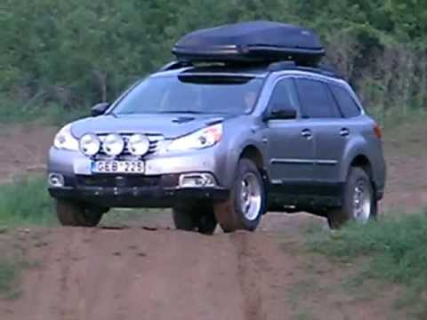 Lifted Subaru Outback 2,5 CVT by PREMUS.LT for offroad ...