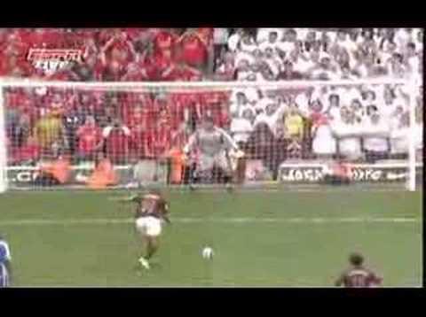 thierry henrys final goal at highbury