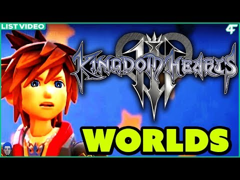 5 Worlds That Will Make Kingdom Hearts 3 The BEST Game in The Series