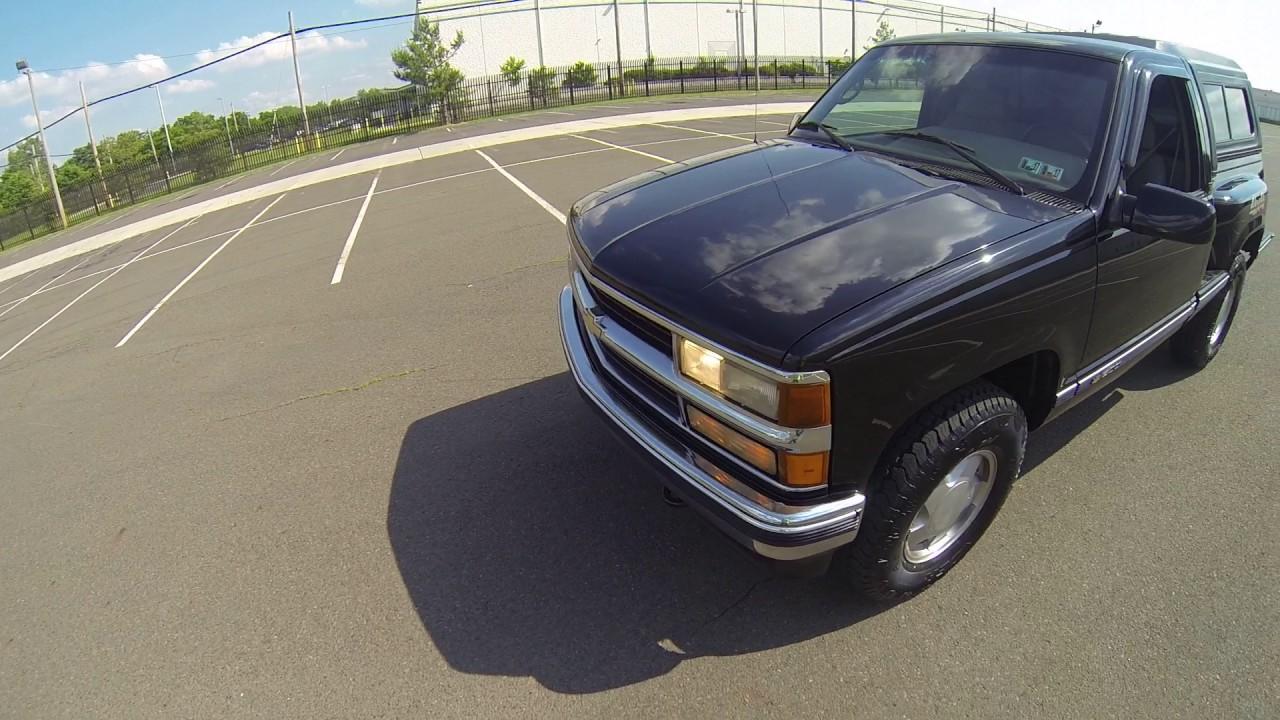 review for 1996 chevy cheyenne 1500 flareside 4x4 5 speed manual sportside stepside pickup truck [ 1280 x 720 Pixel ]