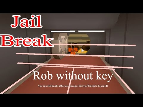 Jailbreak(Beta ) - Easy way Rob the Bank without Key + Fly